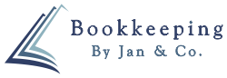 Bookkeeping by Jan and Co Logo